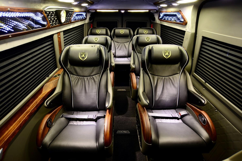 nội thất xe limousine 3